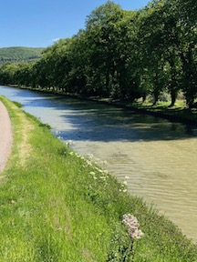 Canal of Bourgogne