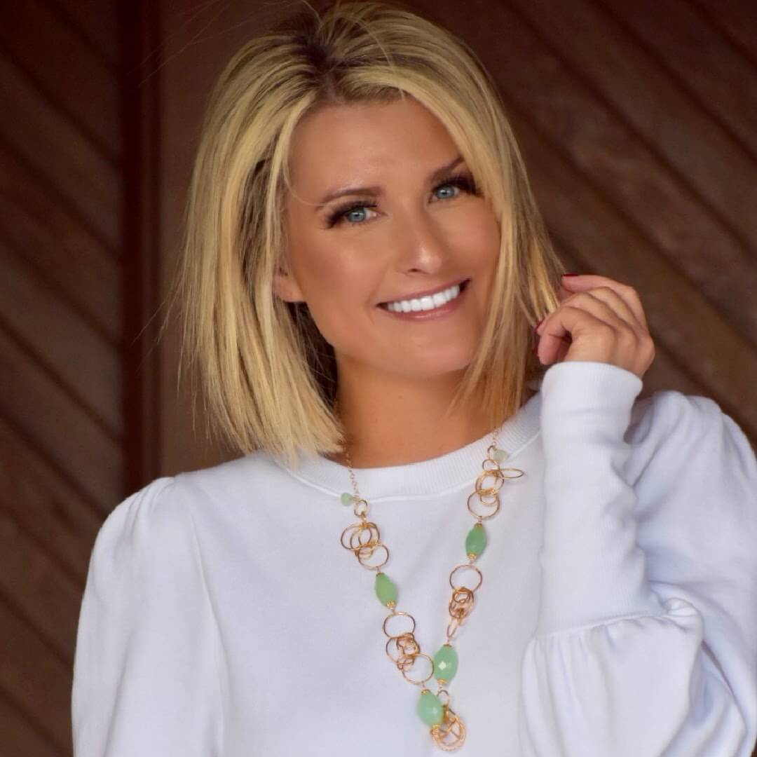 Gorgeous Jewelry White Sweater